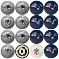 New England Patriots Billiard Balls