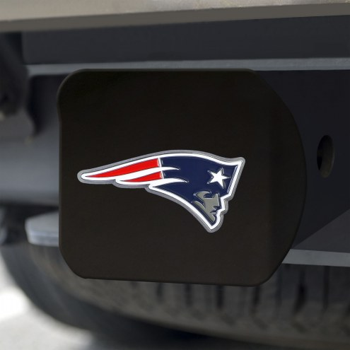 New England Patriots Black Color Hitch Cover