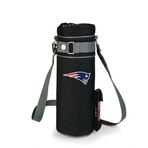 New England Patriots Black Wine Sack