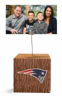 New England Patriots Block Spiral Photo Holder