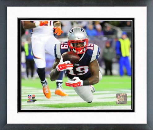 New England Patriots Brandon LaFell Action Framed Photo