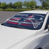 New England Patriots Car Sun Shade