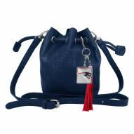 New England Patriots Charming Mini Bucket Bag