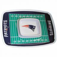 New England Patriots Chip & Dip Tray