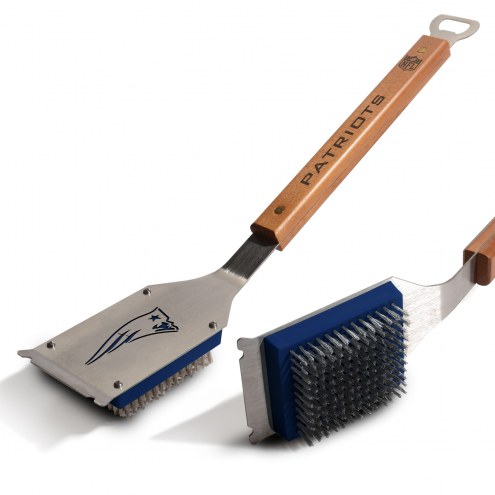 New England Patriots Classic Grill Brush
