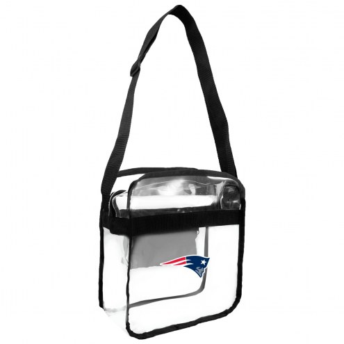 New England Patriots Clear Crossbody Carry-All Bag