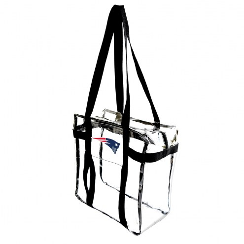 New England Patriots Clear Tote Along