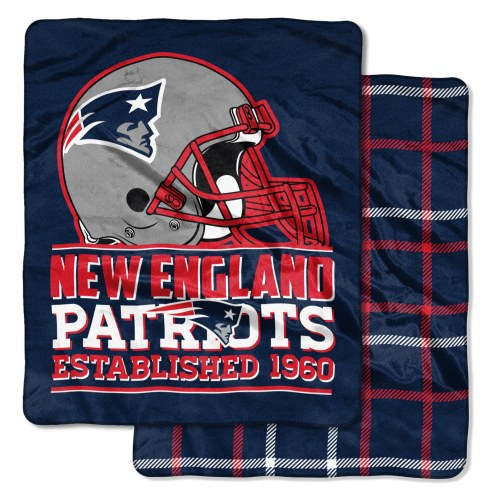 New England Patriots Cloud Throw Blanket