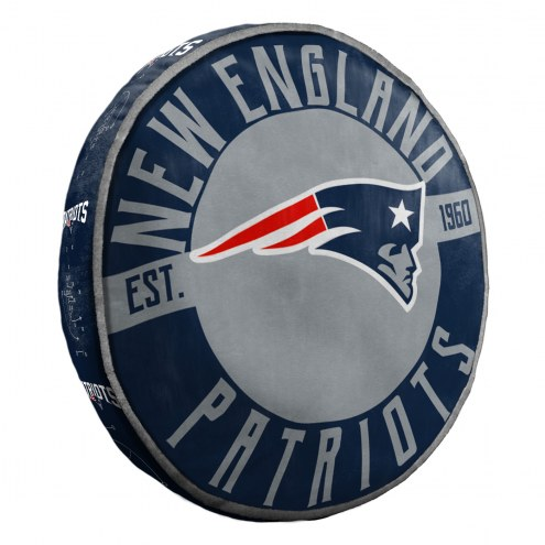 New England Patriots Cloud Travel Pillow