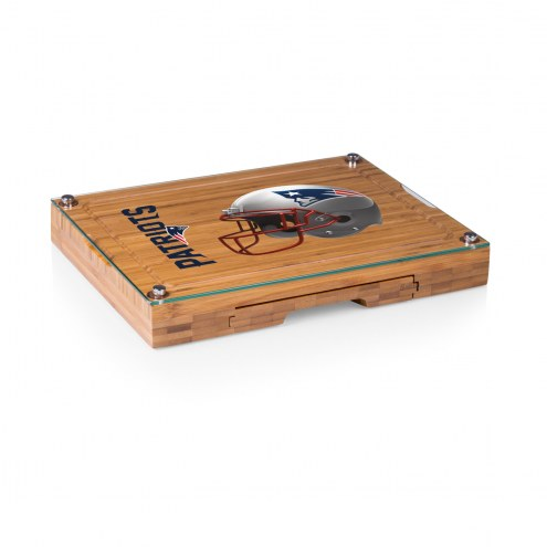 New England Patriots Concerto Bamboo Cutting Board