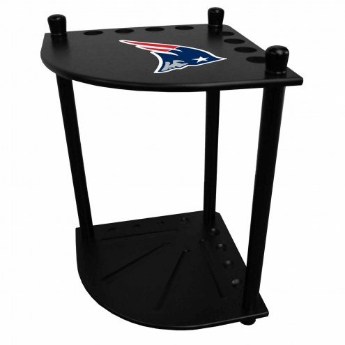 New England Patriots Corner Pool Cue Rack