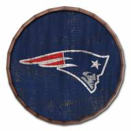 "New England Patriots Cracked Color 24"" Barrel Top"