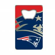 New England Patriots Credit Card Style Bottle Opener