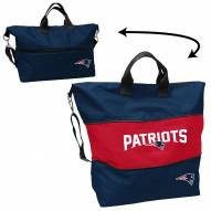 New England Patriots Crosshatch Expandable Tote