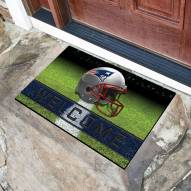 New England Patriots Crumb Rubber Door Mat