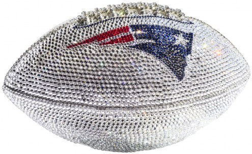 New England Patriots Swarovski Crystal Football