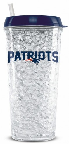 New England Patriots Crystal Freezer Tumbler