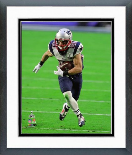 New England Patriots Danny Amendola Super Bowl XLIX Action Framed Photo