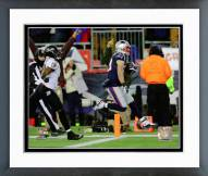 New England Patriots Danny Amendola Touchdown Catch Playoff Action Framed Photo