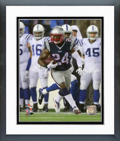 New England Patriots Darrelle Revis Interception AFC Championship Game Framed Photo
