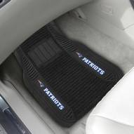New England Patriots Deluxe Car Floor Mat Set