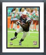 New England Patriots Devin McCourty Action Framed Photo