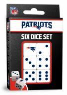 New England Patriots Dice Set