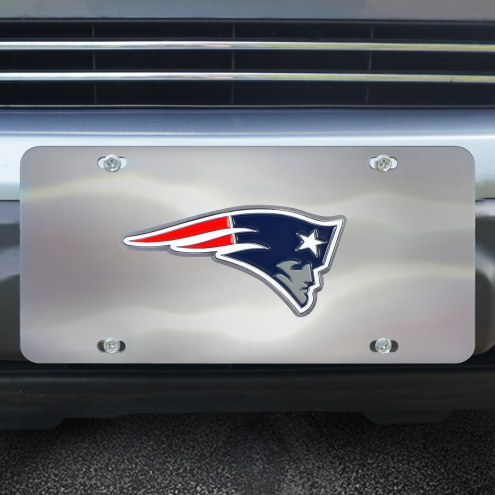 New England Patriots Diecast License Plate