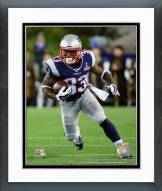 New England Patriots Dion Lewis Action Framed Photo