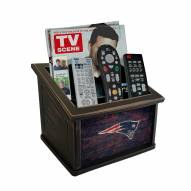 New England Patriots Distressed Team Color Media Organizer