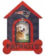 New England Patriots Dog Bone House Clip Frame