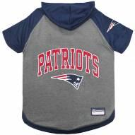New England Patriots Dog Hoodie Tee