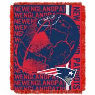 New England Patriots Double Play Jacquard Throw Blanket