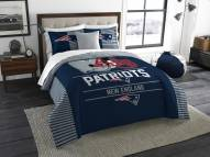 New England Patriots Draft King Comforter Set