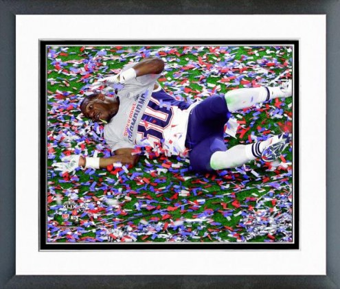 New England Patriots Duron Harmon Super Bowl XLIX Celebration Framed Photo