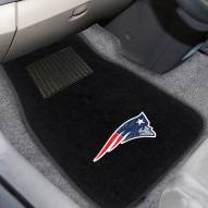 New England Patriots Embroidered Car Mats