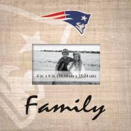 New England Patriots Family Picture Frame