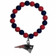 New England Patriots Fan Bead Bracelet