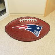 New England Patriots Football Floor Mat