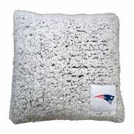 New England Patriots Frosty Throw Pillow