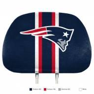 New England Patriots Full Print Headrest Covers