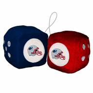 New England Patriots Fuzzy Dice