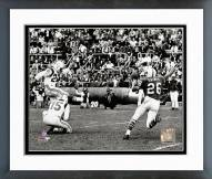 New England Patriots Gino Cappelletti 1964 Action Framed Photo