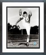 New England Patriots Gino Cappelletti Posed Framed Photo