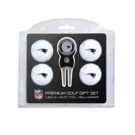 New England Patriots Golf Ball Gift Set