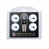 New England Patriots Golf Ball Gift Set