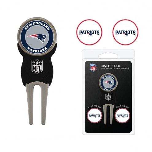 New England Patriots Golf Divot Tool Pack