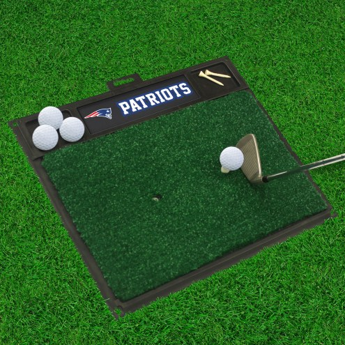 New England Patriots Golf Hitting Mat