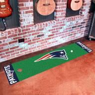New England Patriots Golf Putting Green Mat