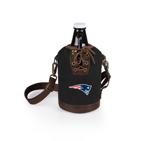 New England Patriots Growler Tote with Growler